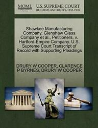 Shawkee Manufacturing Company, Glenshaw Glass C, Cooper, W,,