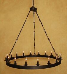 Arbuckle 18-light Candle Style Wagon Wheel Chandelier By Canora Grey Shop