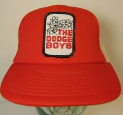 Vintage 1970s 1980s The Dodge Boys Patch SNAPBACK Trucker HAT CAP Dodge Charger