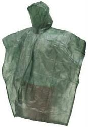 Frog Toggs FTPE1-09 Men's Green DriDucks Emergency Poncho - OS