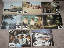 Star Wars Original 1977 Release Set Of 24 Deluxe German Lobby Cards Mark Hamill
