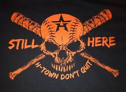 Houston Astros Shirt: H-Town Don't Quit Design. Only $12!!!! $12.00