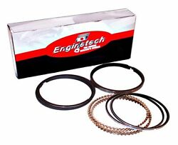 Moly Piston Rings Ford 289 302 351w 1968-1985 Std Enginetech