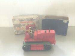 Dinky 963 Blaw Knox Crawler Boxed, From I Think The Late 1950's. Repro Tracks