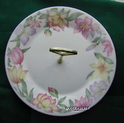 Royal Doulton Blooms Metal Handled Plate For Goodies