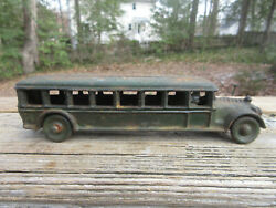 Arcade Cast Iron Fageol Safety Coach Bus Limo Only One With 8 Windows 8 Toy
