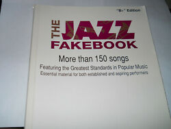 Jazz Fakebook Bb Edition More Than 150 Songs Greatest Standards In Popular Music