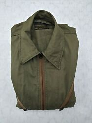 Ww2 Us Air Force K-1 Very Light Flying Suit Size 38-40 - Mfg Dave Sportswear
