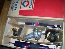 Nos 1960and039s 70and039s Gm Delco Shock Squad Jac Pac 175 Air Shock Kit Orig Box P3606