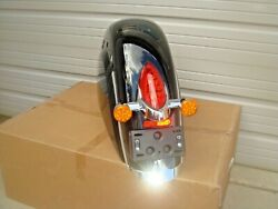 Indian Rear Fender And Tail Light Assembly 2020 Roadmaster Black Pearl Code 666 Hb