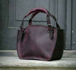 Handmade Genuine Leather Purse In Beautiful Colors Bag With Clutch From Ladybuq