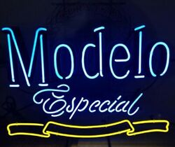 Modelo Especial 1925 17x14 Neon Sign Lamp Light Beer Bar With Dimmer
