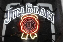 Jim Beam 17x14 Neon Sign Lamp Light Beer Bar With Dimmer