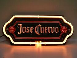 Jose Cuervo 3d Carved Neon Sign 14x7 Lamp Light Beer Bar With Dimmer