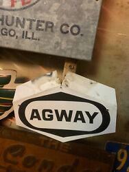 Vintage Antique Agway Farm Seed Agricultural Advertising Sign Metal