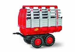 Rolly And Kettler Tractor Hay Wagon Trailer Brand New Nib
