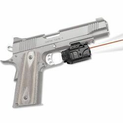 Crimson Trace Rail Master Pro Universal Red Laser Sight And Tactical Light Cmr-205