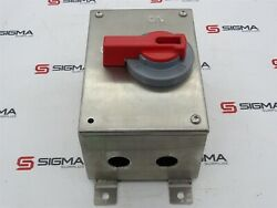Hubbell Hblds3ssac Enclosed Disconnect Switch 30a 600vac