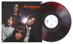 The Stooges John Cale Mix Exclusive Club Edition Red And Black Marble Vinyl Lp
