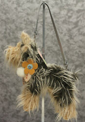 New Puppy At Heart Yorkshire Terrier Purse - Yorkie - Plush  $10.00