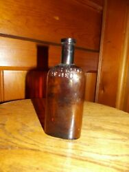 Antique Medicine Embossed The Great Horse Remedy Rare