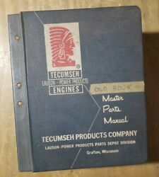 Tecumseh Engines Lauson Power Products Master Parts Manual 70's 1j-3196-m3