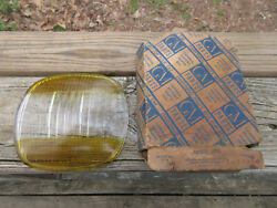 1941 Buick 5931958 New Accessory Amber And Clear Guide Fog Lamp Light Lens 5 3/4