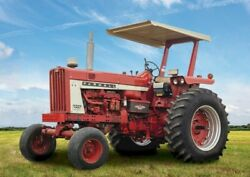 All Metal Certified Rops And Canopy - International Tractor 706 966 1206 1466
