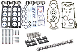 Camshaft And Lifters Install Kit For 2001-2003 Chevrolet Gmc 4.8l 5.3l Trucks Suvs