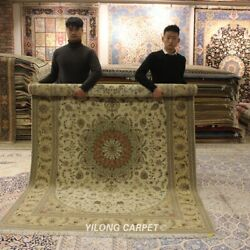 Clearance Yilong 6and039x9and039 Handmade Wool Area Rugs Parlor Hand Knotted Carpet 1443