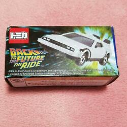 Tomica Back To The Future The Ride Delorean Miniature Car Usj Limited New