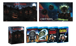 The Critters Collection Blu-ray Disc, 2018 With Rare Oop Lithograph