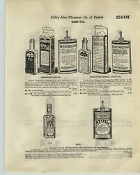 1920 Paper Ad 2 Sided Winchester Gun Oil Bottle Box Nyoil 3 In 1 Three In One