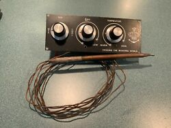 Vintage King Cooling The Boating World Ac Control Panel With Temp Sensor / Probe