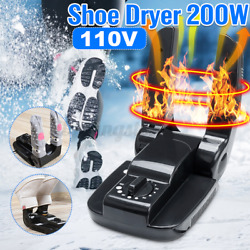 Electric Shoe Boot Footwear Dryer Warmer And Glove Heater timing