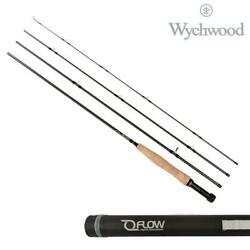 Wychwood Flow Fly Rods 4 Pcs With Travel Tube - Trout Salmon Fishing