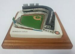 Chicago Cubs Wrigley Field Replica 3d Wall Mount Art 4 In X 4 In