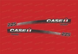 Case Ih 225 Tractor Decals / Stickers Compatible Complete Set / Kit