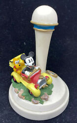 Mickey Mouse Pluto Cookie Stamp Walt Disney Blue Yellow Red Black Mold Bakeware