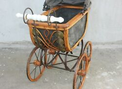 Antique Dolls Carriage, Birthday Gift For Your Little Girl,nursery De