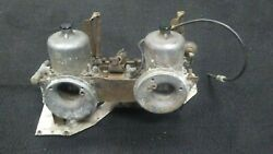 Rover 2000 Tc P6 Dual Carbs + Intake Manifold And Linkage Parts Only 68 63-70