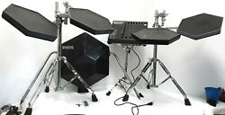 Simmons Sds 9 Vintage Electronic Drum Kit 4x Tomskick Pad/pedalmodulestands