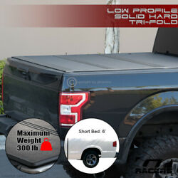 For 1994-2003 Chevy S10/s15 6 Ft Bed Low Profile Hard Tri Fold Abs Tonneau Cover