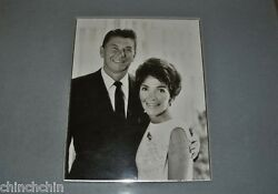 Huge Signed Ronald And Nancy Reagan Autographs Photo Radio Record Framed Rophone