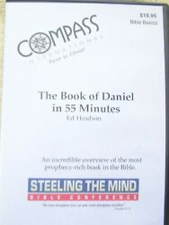 The Book Of Daniel In 55 Minutes - Ed Hindson Dvd-r Free Shipping