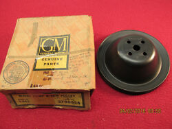 62 63 Chevy Gmc Truck 10 20 30 6 Cylinder Fan Water Pump Engine Pulley