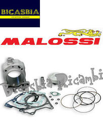 9487 - Cylinder Malossi Aluminum 75,5 Piaggio Carnaby 200 4t Lc Leader