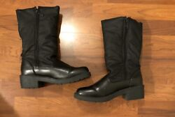 Totes Boots Faux Fur Lined Black Women's 7 $9.50