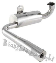 4539 - Silencer Sip Racing In Steel Vespa 160 Gs 180 Ss Only Competition