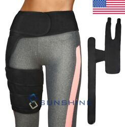 Hip Brace Stabilizer Sciatica Pain Relief Compression Groin Support Wrap Thigh